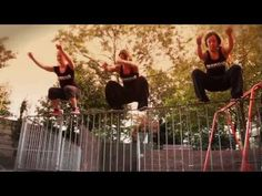 Movement of Three -- Girls doing parkour...and it'll make you smile. :)