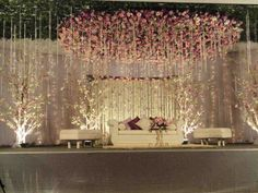 Do you need inspiration for your wedding decoration? Here we present the 40 Romantic Wedding Decoration Design. May you inspire and make wedding decorations as you wish from this article. Decoration Hall, Wedding Hall Decorations, Romantic Wedding Decor, Marriage Decoration, Engagement Party Decorations, Engagement Ideas, Beautiful Decoration, Winter Engagement, Unique Weddings