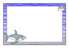 Shark A4 page borders                                                                                                                                                                                 More