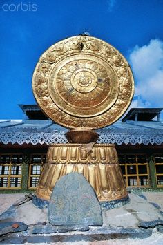 Wheel of Life - Jokhang Temple  Lhasa, Tibet