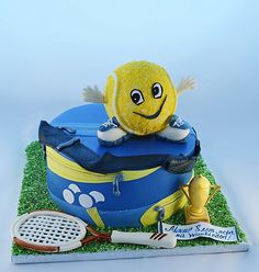 "Tennis cake ""Time to Wimbledon"""