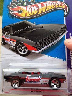 2013 Hot Wheels 67 Camaro Wheel Error Reversed Rarer Then Super Treasure Hunt!