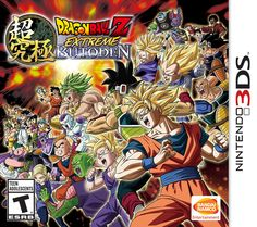 Dragon Ball Z: Extreme Butoden - Nintendo 3DS by Namco Bandai Games   Price:$29.99 & FREE Shipping on orders over $35. Details Pre-order Price Guarantee. Learn more. This item will be released on October 20, 2015.  Pre-order now. Ships from and sold by Amazon.com. Gift-wrap available. Color: Nintendo 3DS Product Alert