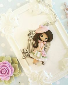 dream dolly necklace by lapetitedeco on Etsy
