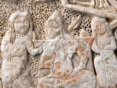 Stucco relief, Selcuk (Source provides no further information). The Turk, Islamic Architecture, Grand Palais, Mongolia, Islamic Art, Archaeology, Empire, Lion Sculpture, Carving