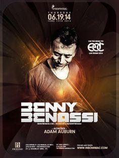 Anew Productions: Benny Benassi  @ EXCHANGE LA - Los Angeles, CA JUN...