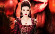 Yan Da as the Demons daughter in Ice Fantasy Ice Fantasy, Fantasy Films, Fantasy Romance, Fantasy Characters, Dramas, Sungjae, Warrior Girl, Fantasy Costumes, Kpop