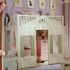 I'd love to make this fit Samantha's room