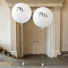 Mr and mrs giant balloons                                                       …
