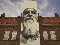 Streetart: El Mac New Murals in Aalborg // Denmark (9 Pictures) > Film-/ Fotokunst, Paintings, Streetstyle, urban art > aalborg, art, denmark, elmac, mural, street