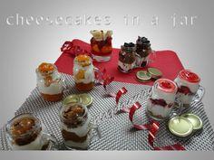 Le cheesecake en jarre !! Un moyen tout aussi pratique que joli pour faire un…