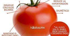 Beneficios del tomate rojo, uno de los mejores antioxidantes que hay con Habitos.mx #TomateRojo #VidaSaludable #BeneficiosSanos | Batidos | Pinterest | Hay, Sa…