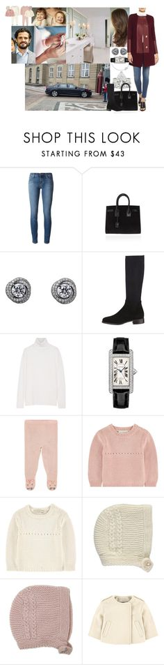 """""""Taking a Pregnancy Test and Finding Out She's Pregnant as Soon As They Arrive to Amalienborg While Carl-Philip Takes Ava and Lily to Spend Time at Frederik and Mary's"""" by louiseingrid-ofdenmark ❤ liked on Polyvore featuring J Brand, Yves Saint Laurent, Ruban, Aquatalia by Marvin K., Equipment, Barbara Casasola, STELLA McCARTNEY and Burberry"""