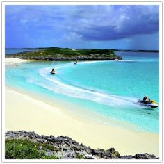 Exuma Water Sports Wave-runner Tour. #Bahamas #Caribbean