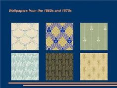 Mod The Sims - Wallpapers from the 1860s and 1870s
