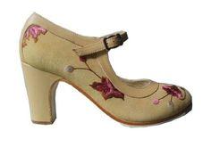 Malaga professional flamenco shoe