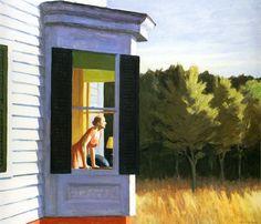 Cape Code Morning, Edward Hopper.  A favorite among Hopper's  Cod series