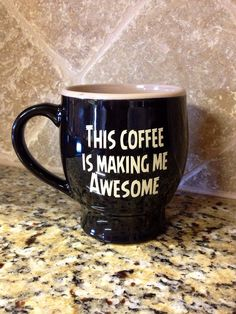 This coffee is making me awesome!!  www.firesidecoffee.com