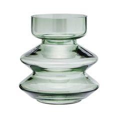 Trouva: Green Glass Shapely Vase