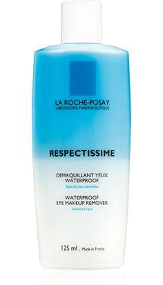 Todo sobre RESPECTISSIME DESMAQUILLANTE DE OJOS BIFÁSICO, un producto en el campo de Respectissime por La Roche-Posay recomendado para {Topic_Label}. Consejo experto gratuito