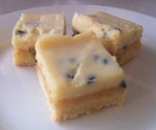 Recipe Passionfruit Slice by ThermoCreations, learn to make this recipe easily in your kitchen machine and discover other Thermomix recipes in Baking - sweet. Sweet Recipes, Snack Recipes, Cooking Recipes, Fudge Recipes, Yummy Recipes, Recipies, Snacks, Passionfruit Slice, Recipes