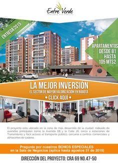 #NOVOCLICK esta con #EntreVerde #Apartamentos #Inversión