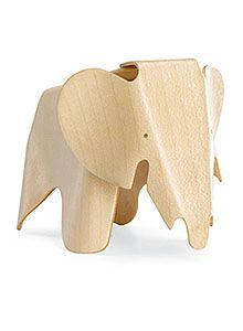 Miniature Eames plywood elephant stool... Max get for Max