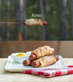 How to Make Campfire Crescent Dogs