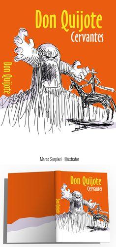 """Don Quijote"" Cervantes Serpieri, Book Covers, Illustration, Books, Libros, Book, Illustrations, Book Illustrations, Cover Books"