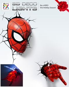 HERO UP with - MARVEL Super Gifts under $30 available at Target USA! #gifts #holidaygifts #giftideas #3DLightFX #spiderman