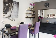 My salon in Amsterdam! Proud owner!, [My salon in Amsterdam! My salon in Amsterdam! My salon in Amsterdam! Home Nail Salon, Nail Salon Design, Nail Salon Decor, Salon Interior Design, Beauty Salon Interior, Spa Room Decor, Home Decor, Nail Parlour, Tech Room