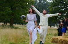 Hermione de Paula | Carla and Milo's Wedding | Wedding Dress | #weddingdress #justmarried #happy #hermionedepaula #hdpbridal