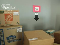 Tips for Moving In - Stress Free! - The Creative Cubby