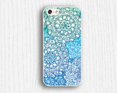 blue floral pattern  iphone 5c cases iphone 5s cases by up2case, $9.99