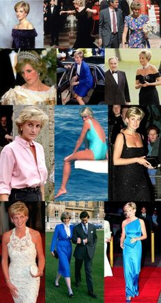 Diana over the years