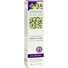 Andalou Naturals Age Defying Deep Wrinkle Dermal Filler - 0.6 Fl Oz