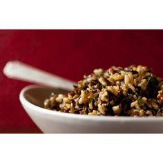 Wild Rice & Cranberry Salad with Curry Vinaigrette  //  SavoryPantry.com  //  #Cranberry
