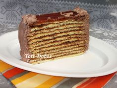 diana's cakes love: Tort Dobos -II Romanian Food, Food Inspiration, Love Food, Tiramisu, Sweets, Homemade Food, Ethnic Recipes, Desserts, Cakes