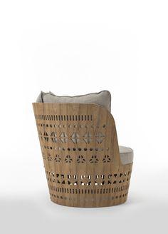 Emmemobili Furniture Inspiration, Design Inspiration, Outdoor Loungers, Chair Design, Reusable Tote Bags, Outdoor Furniture, Lounge Chairs, Armchair, Collections