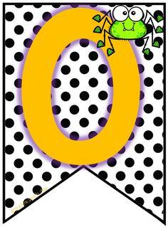 Alphabet Templates, Halloween 1, Wallpaper, Ideas, Cloud, Giant Letters, Preschool Alphabet, Pretty Pictures, Flags