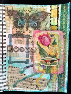 CREATIVITY IS CONTAGIOUS: MAGAZINE PEOPLE ART JOURNAL PAGES; Jan 2016