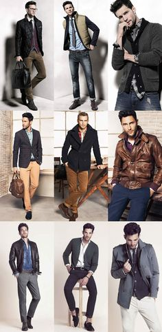 HE by Mango Men's Lookbook