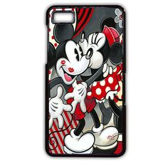 Hugs And Kisses Disney Mickey Minnie Mouse TATUM-5381 Blackberry Phonecase Cover For Blackberry Q10, Blackberry Z10