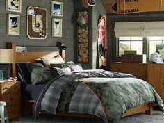 Snowboard Bedding, Snowboard Bedroom & Emerson Burton Room | PBteen