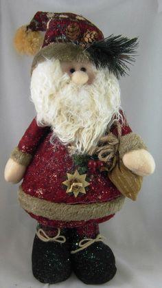 Père Noël en peluche