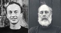 Frank O'Hara and Edward Gorey were roommates at Harvard in the late 1940's.