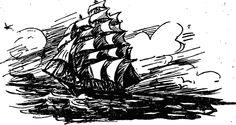 капитан корабля рисунок - Поиск в Google