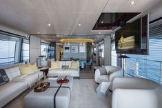 superyacht of the week: lürssen's vive la vie - daily photo, Innenarchitektur ideen