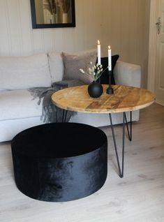 Bord rundt tre og metallbein - Bua Dekor - Interiørbutikk på nett Coffee, Table, Furniture, Home Decor, Kaffee, Decoration Home, Room Decor, Cup Of Coffee, Tables