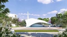 The mosque has been designed to become a religious and urban landmark playing a central role within the rural community.